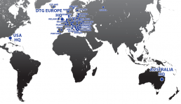 DTG Europe World Map