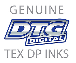Genuine DTGTex DP Ink Logo