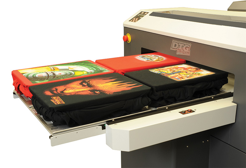M4 Direct to Garment Printing - DTG printers and printing