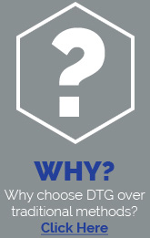 Why choose DTG over traditional methods?